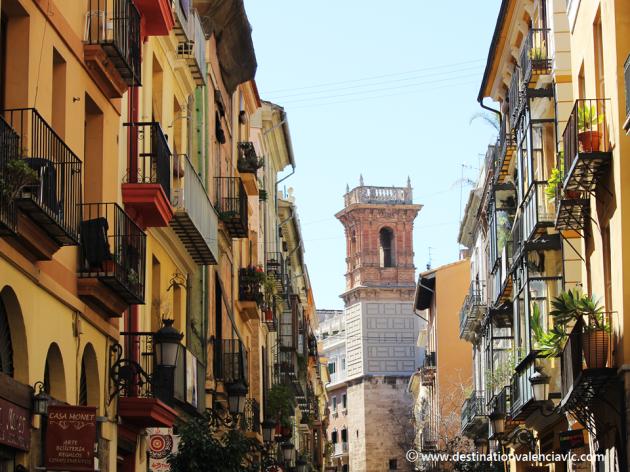 Calle Serranos de Valencia