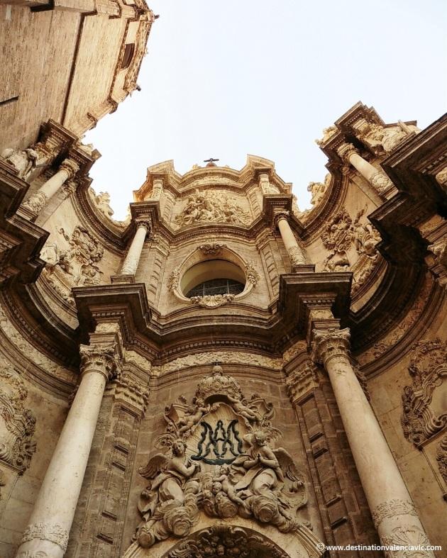 Fachada barroca de la Catedral de Valencia