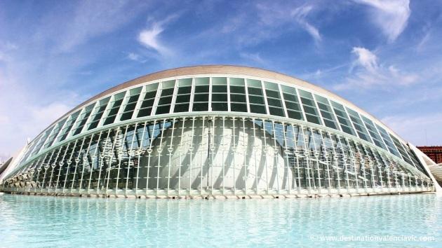 Hemisfèric de la Ciudad de las Artes y de las Ciencias de Valencia