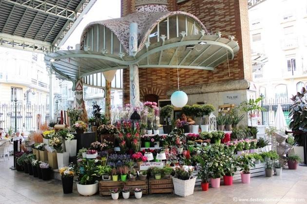 Mercado de Colón Valencia Floristería Baladre