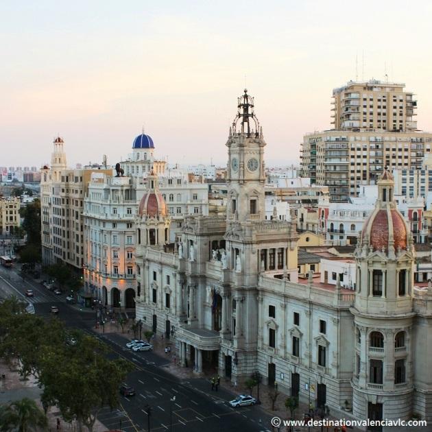 Plaza Ayuntamiento de Valencia